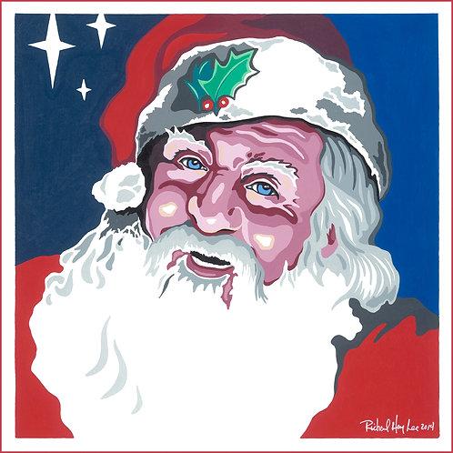 Santa Claus, Original Painting