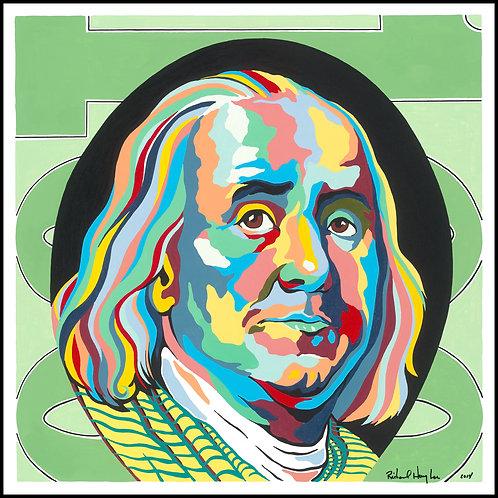 Benjamin Franklin, Original Painting