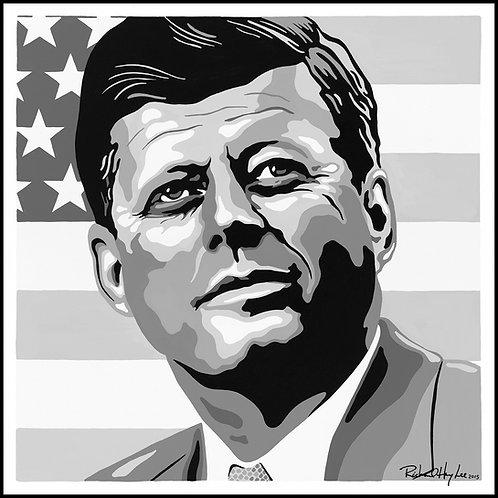JFK, Original Painting