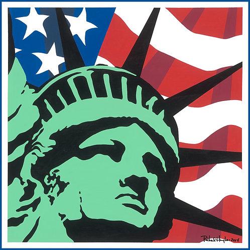 Lady Liberty, Original Painting