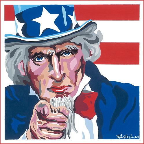 Uncle Sam, Original Painting