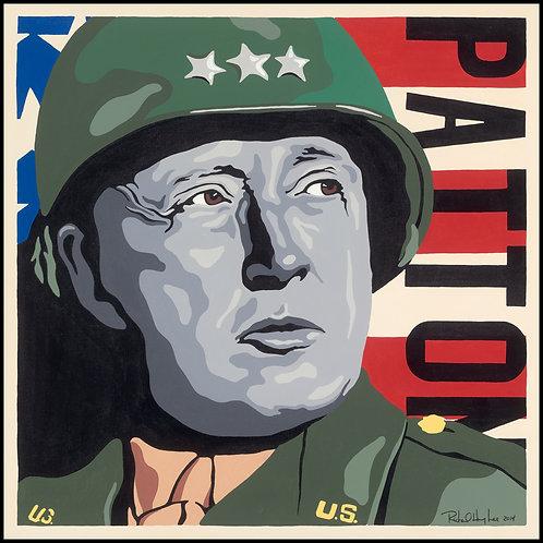 General Patton, Original Painting