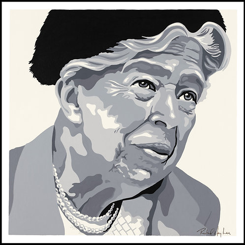 Eleanor Roosevelt, Original  Painting.