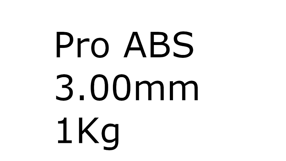 Pro ABS 3.00mm