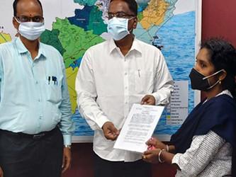 రాజమండ్రి అటవీ సర్కిల్ లో నెల లోపే కారుణ్య నియామకం
