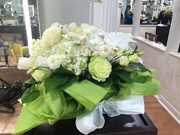 Flowers sent by Goldwell International