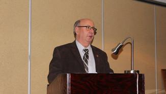 Minister Urquhart provides opening remarks