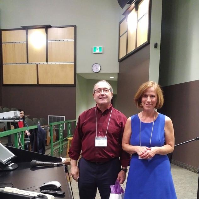 Todd Leader and Rhonda Stairs