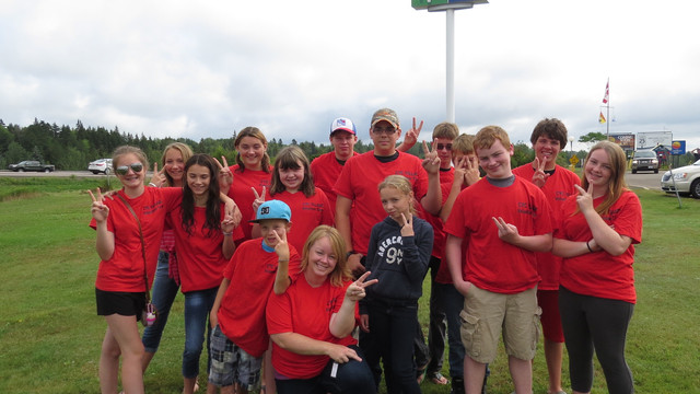 Chipman Youth Centre volunteer team