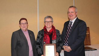 Dr. Carmen Gill receives award in Business Excellence in Crime Prevention