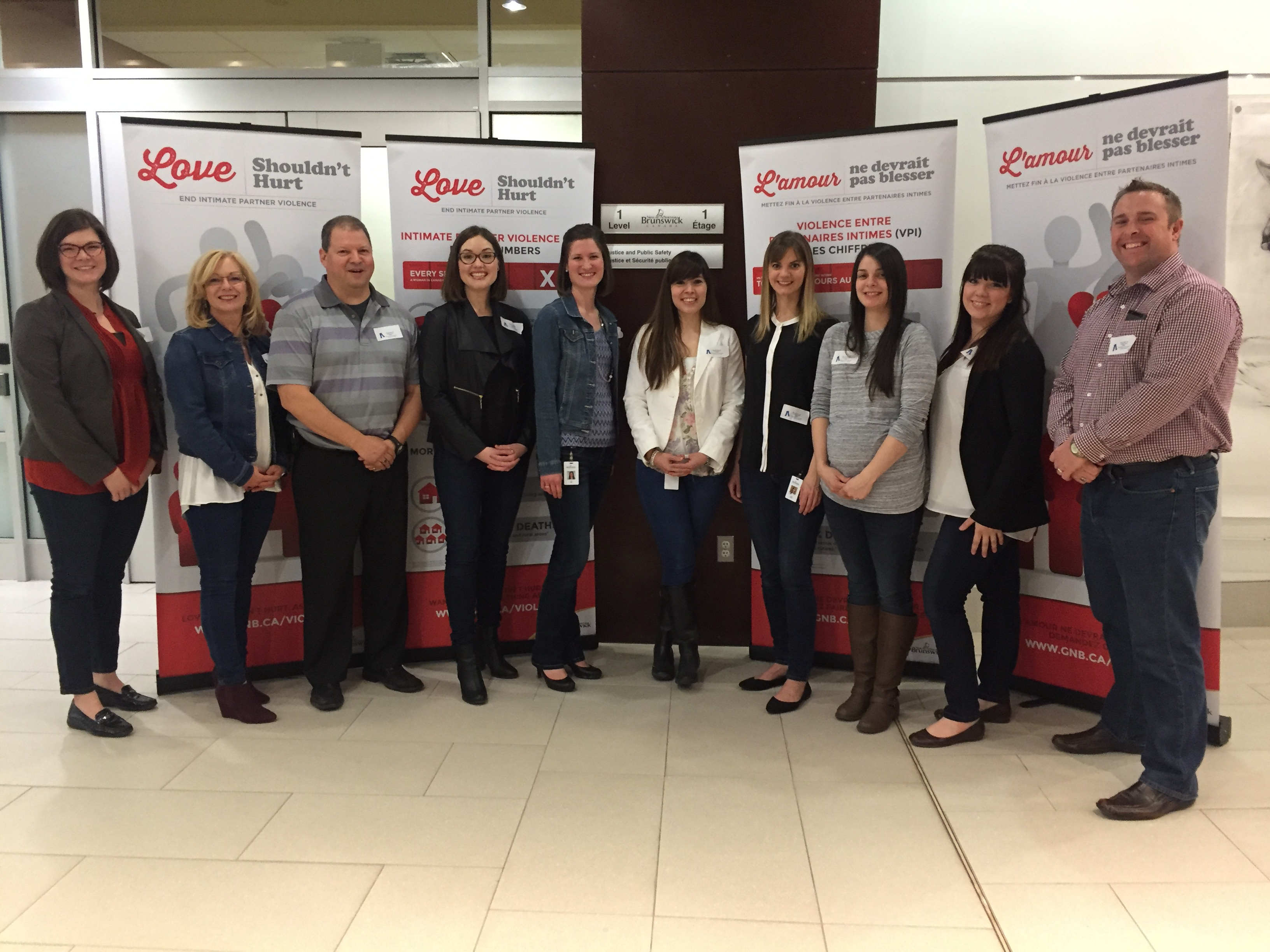 Public Safety team recognize Denim Day