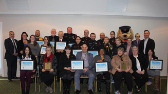 Crime Prevention Award Recipients