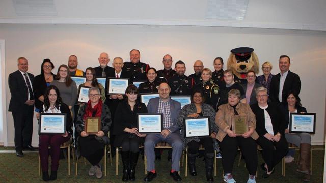 Crime Prevention Award Recipients