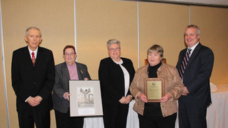 Chipman Youth Centre Receives Hall of Fame Award