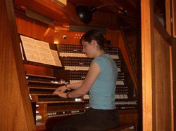Organing at Mariankirche, Lübeck