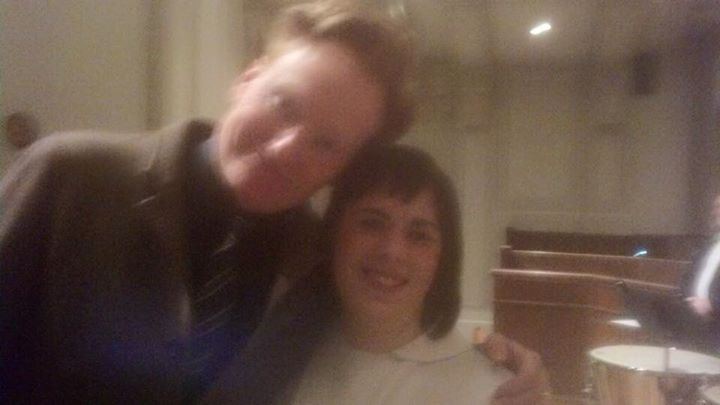 Conan O'Brien and me!