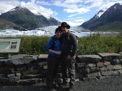 Daniel and I, post engagement.