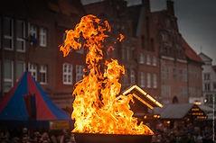 Sülfmeistertage Fassverbrennung