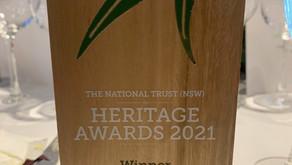 Heritage Awards 2021