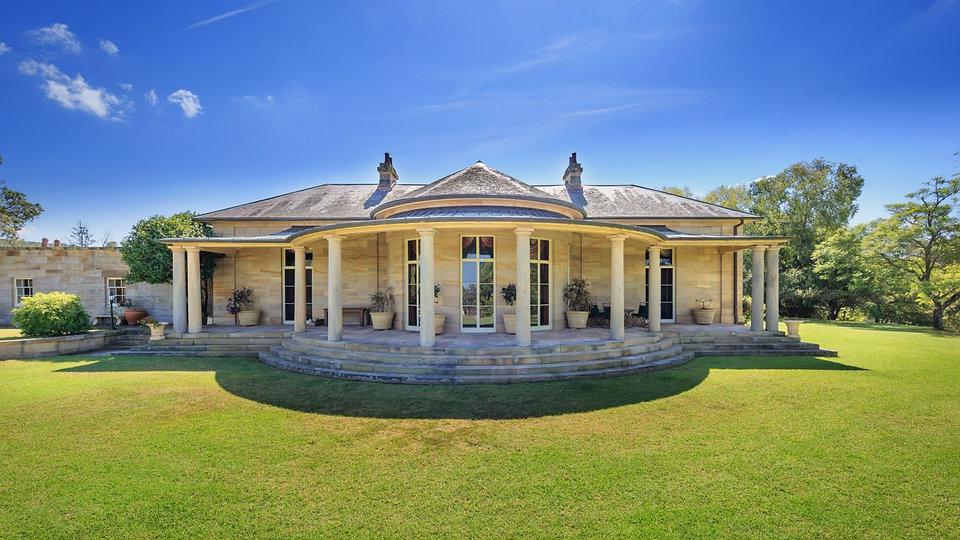 Fernhill, Historic House, Western Sydney Park Lands, Stone House, Colonial Australia, Gardens