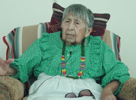 Yuchi Elder receives Spirit Aligned Legacy Leader Award