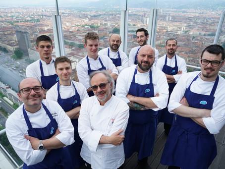 Torino che guarda dall'alto