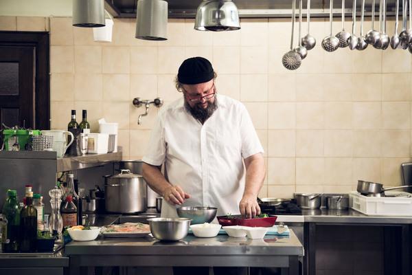 Gottfried in cucina