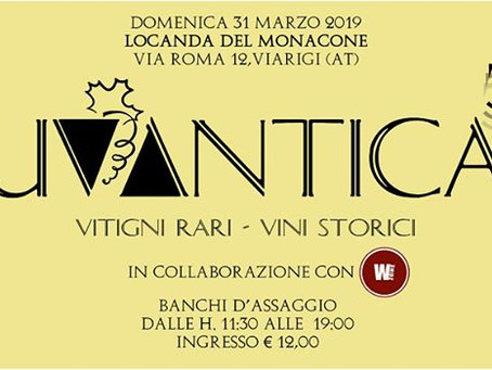 Uvantica 2019 a Viarigi