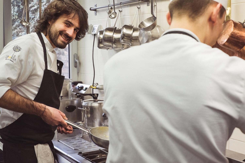 Cesare in cucina
