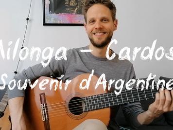 Milonga - Cardoso - souvenir de Buenos Aires 2013