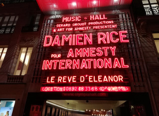 Birthday with Damien Rice