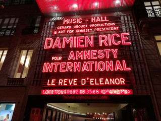 Birthday with Damien Rice