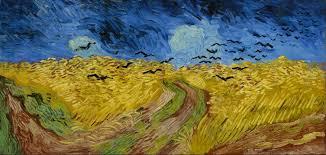 Il y a (Gaëtan Roussel - Vanessa Paradis) vs. Van Gogh (champ de blé aux corbeaux )