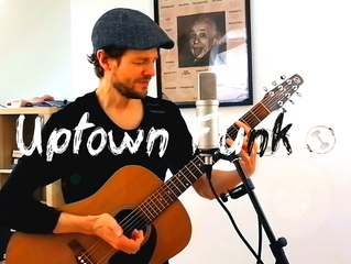 Uptown funk - Mark Ronson ft Bruno Mars (cover by FuGa)