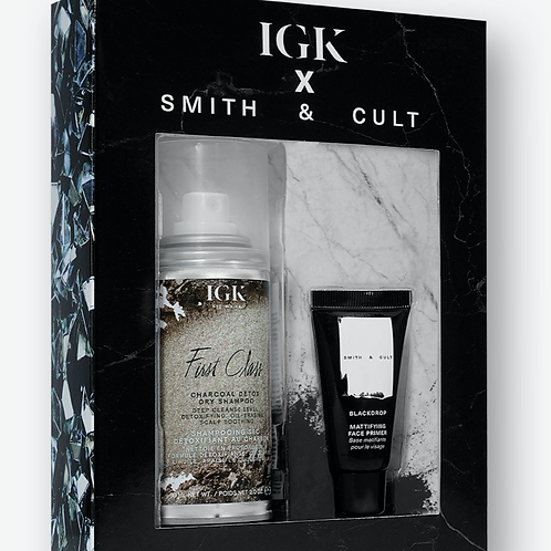 IGK X SMITH & CULT Charcoal Detox Duo