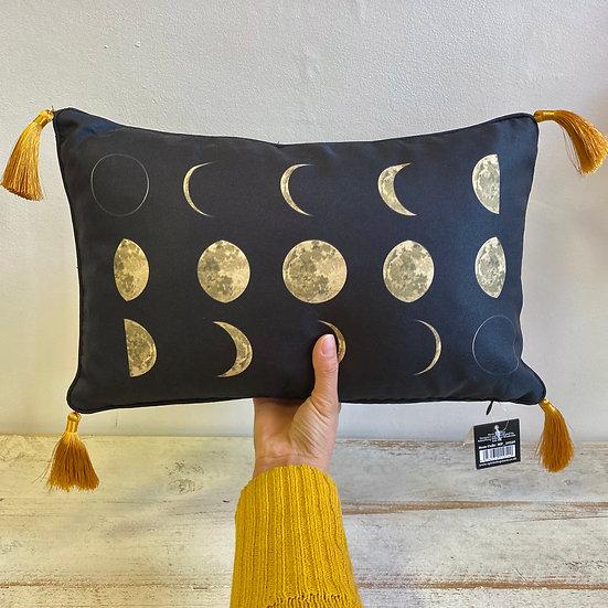 Moon Phase Rectangle Cushion