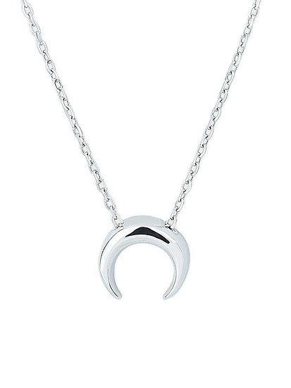 Selene Silver Necklace