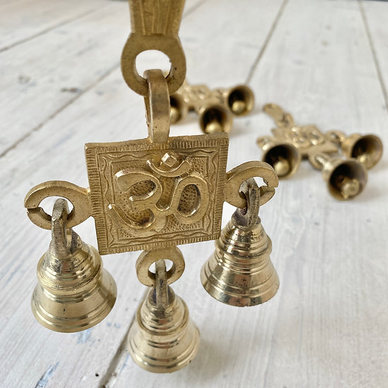 Hanging Hindu Altar Bells
