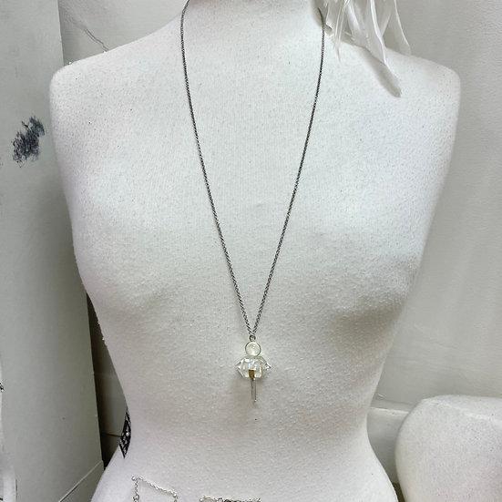 Double Terminated Pendulum Necklaces