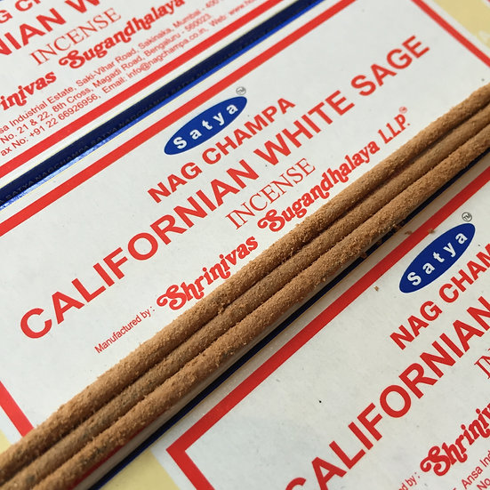 Satya Sai Baba Californian Sage Incense Sticks