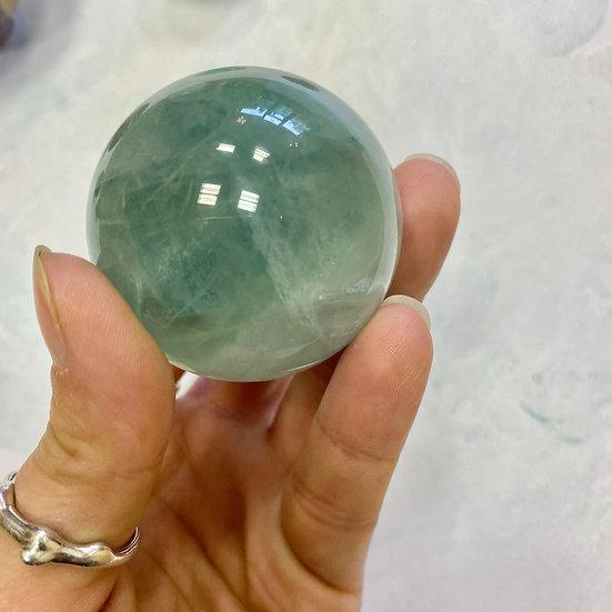 Green Fluorite Sphere 40-50mm