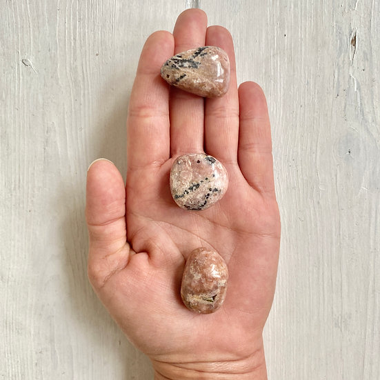 Medium Rhodochrosite Tumbles