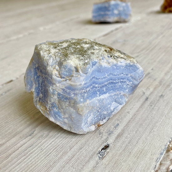 Raw Blue Lace Agate Chunk #3