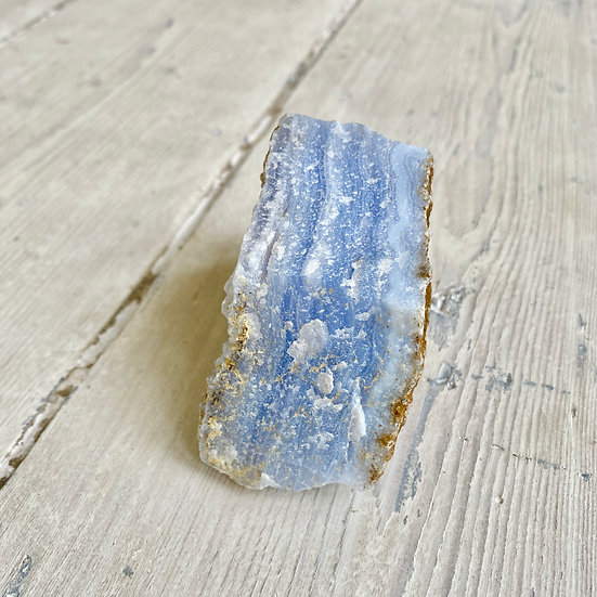 Raw Blue Lace Agate Chunk #4