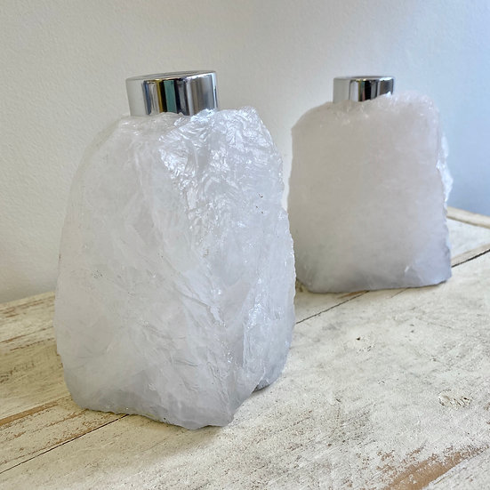 Raw Quartz Reed Diffuser Bottle