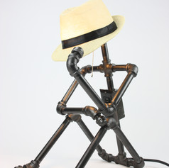 Tip Your Hat Bot Lamp