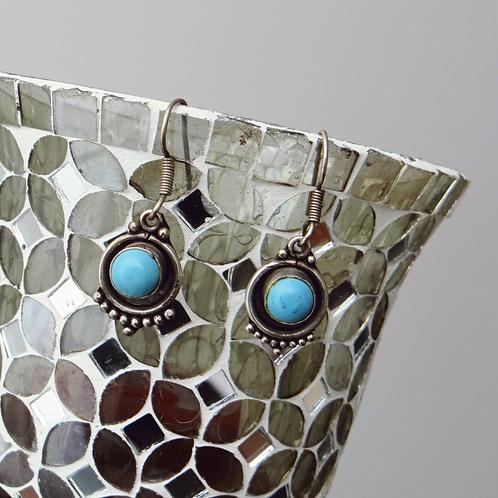 Lapiz Azul Sterling Silver Earring