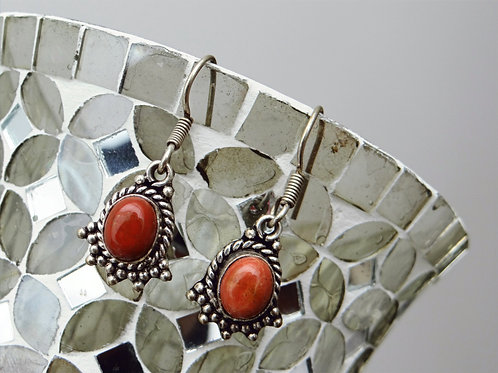 Corral Sterling Silver Earring