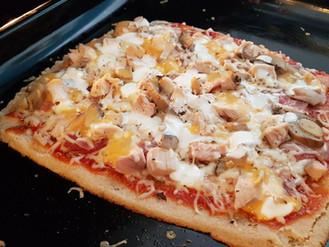 Πίτσα light μόνο με 25γρ υδατάνθρακα ανά ½ πίτσα.