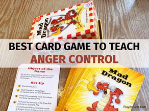 Mad Dragon: A Familiar Card Game to Teach Children Anger Management